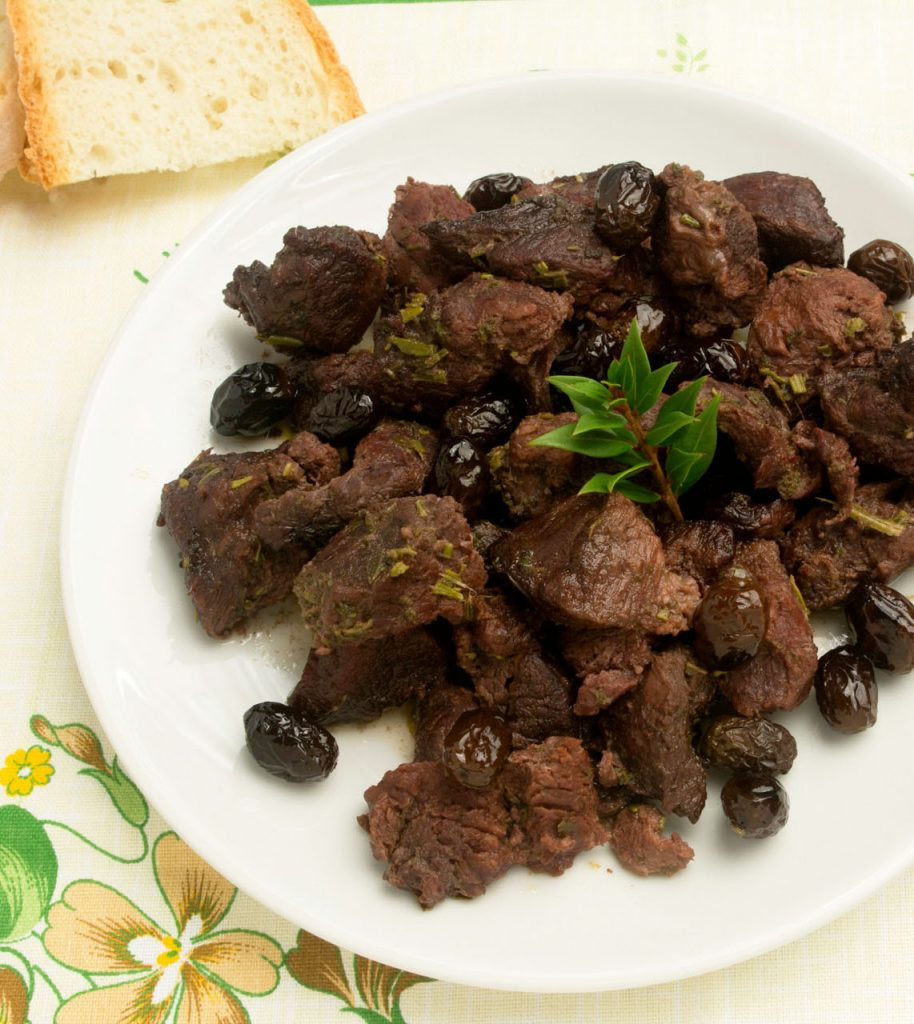 Wild Boar Chops with Olives - Sandàra