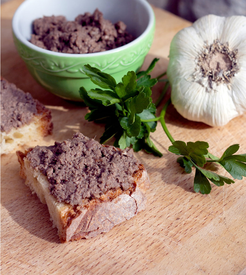 Tuscan pâté for crostinos